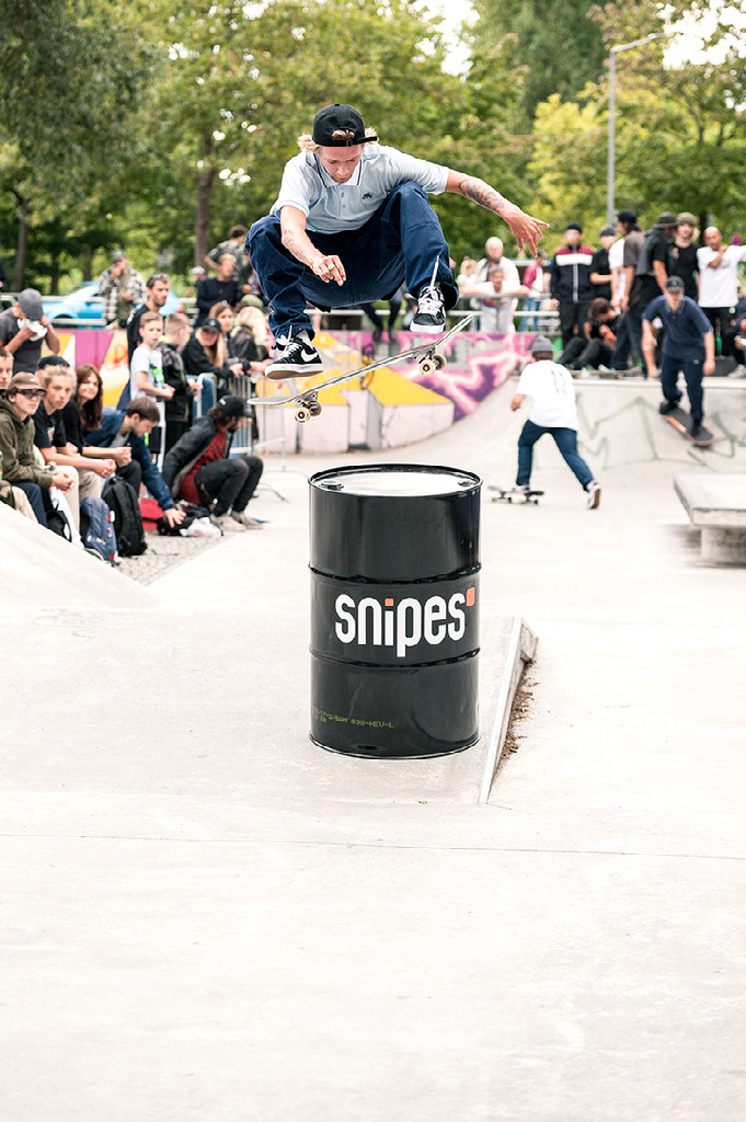 Justin Sommer, FS Flip, Squad Up Berlin | fine lines Marketing