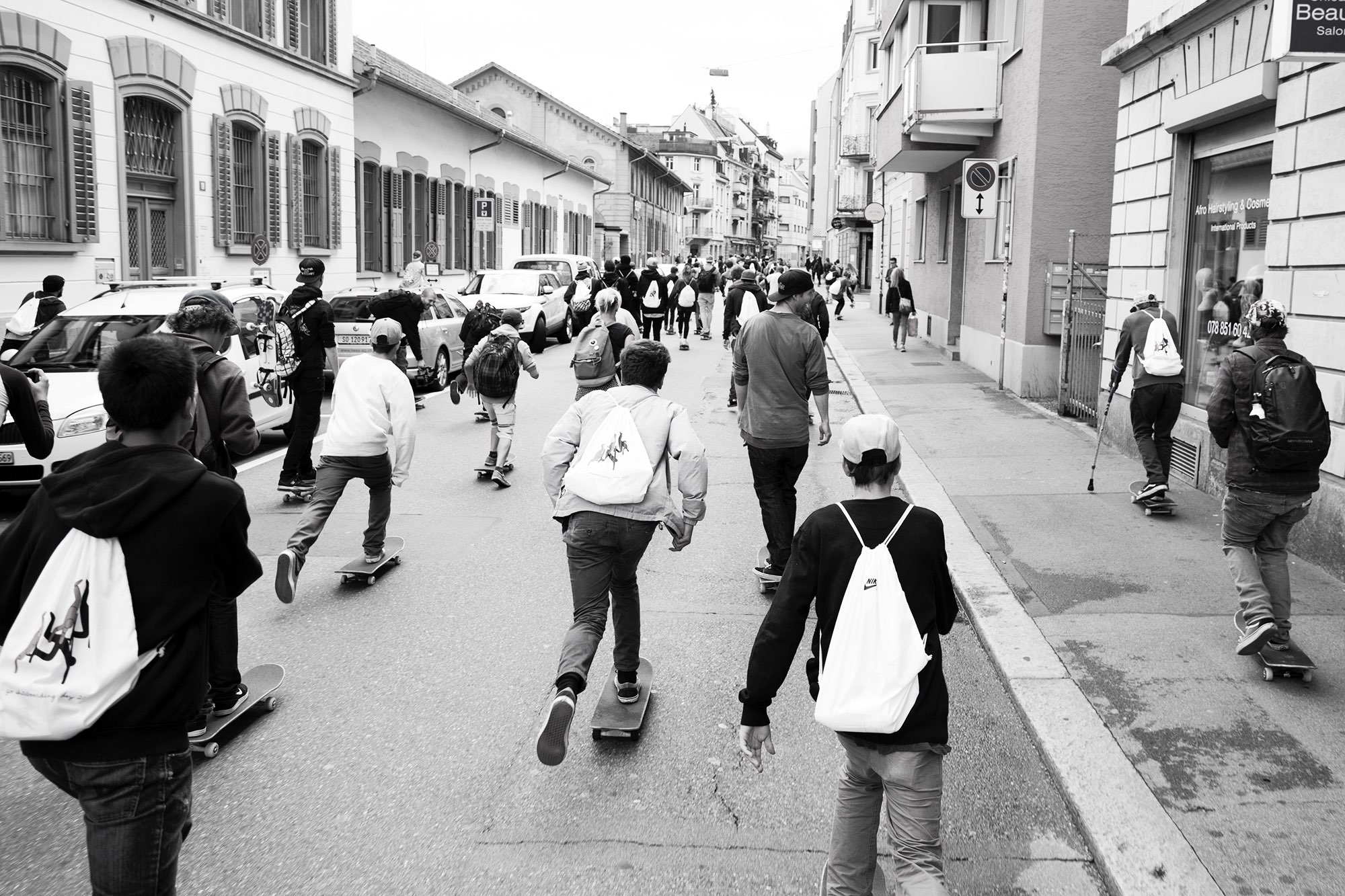 Go Skateboarding Day 2015, Zürich | fine lines Marketing